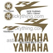 Yamaha R1 Fairing Stickers Car Motorbike Vinyl Decals
